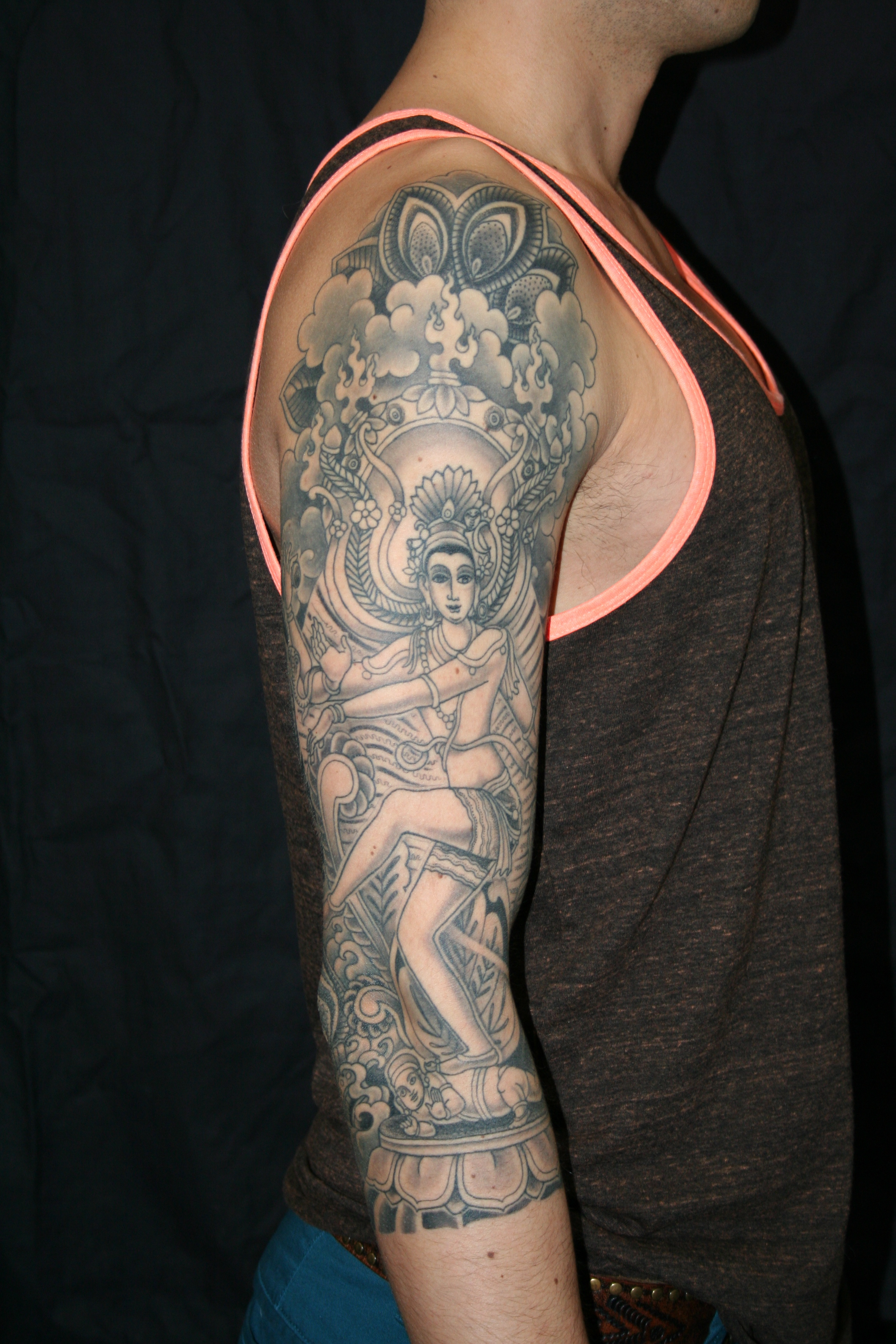 shiva   Tattooing & Art by Yoni Zilber